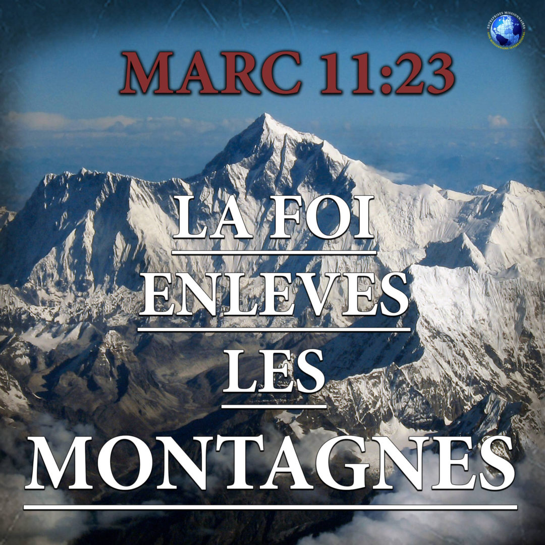 La Foi Enleves Les Montagnes