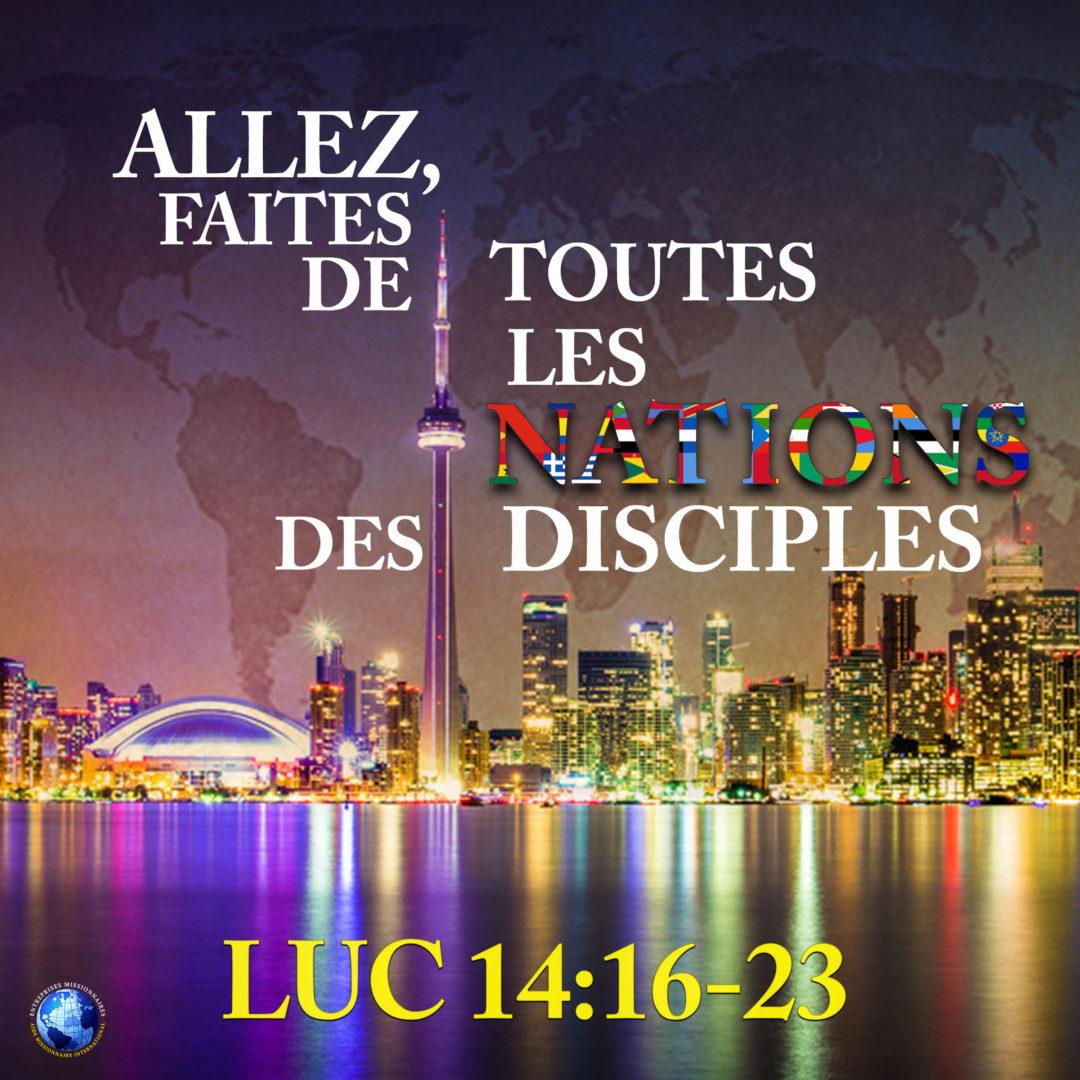Allez Faites De Toutes Les Nations Des Disciples