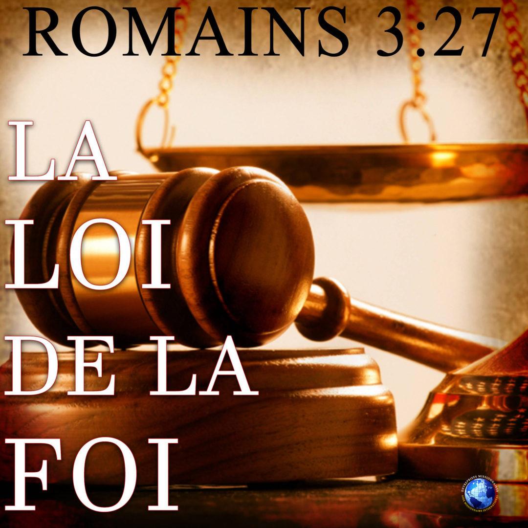 La Loi De La Foi