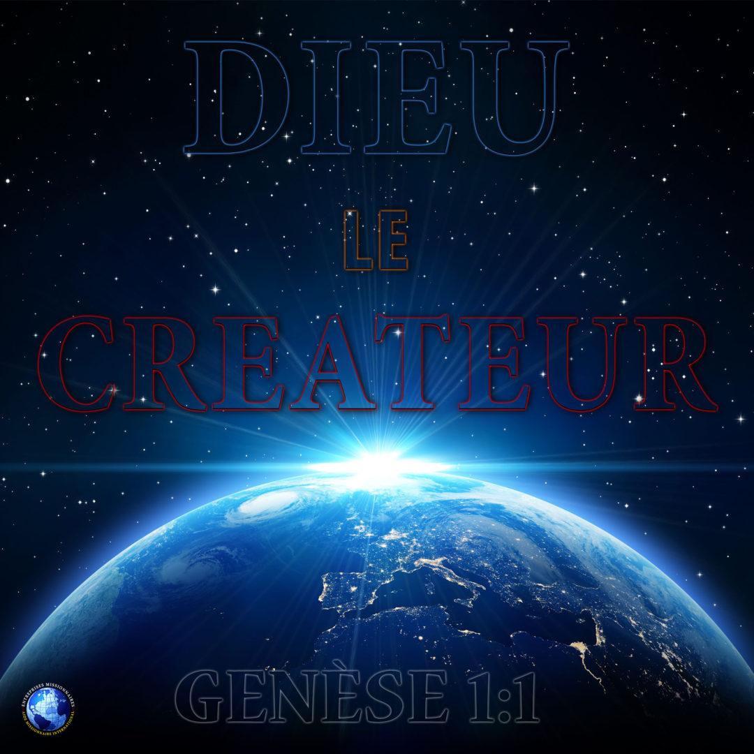 Dieu Le Createur
