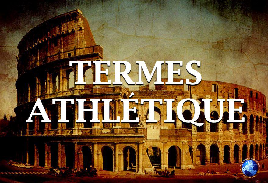 Termes Athlétique