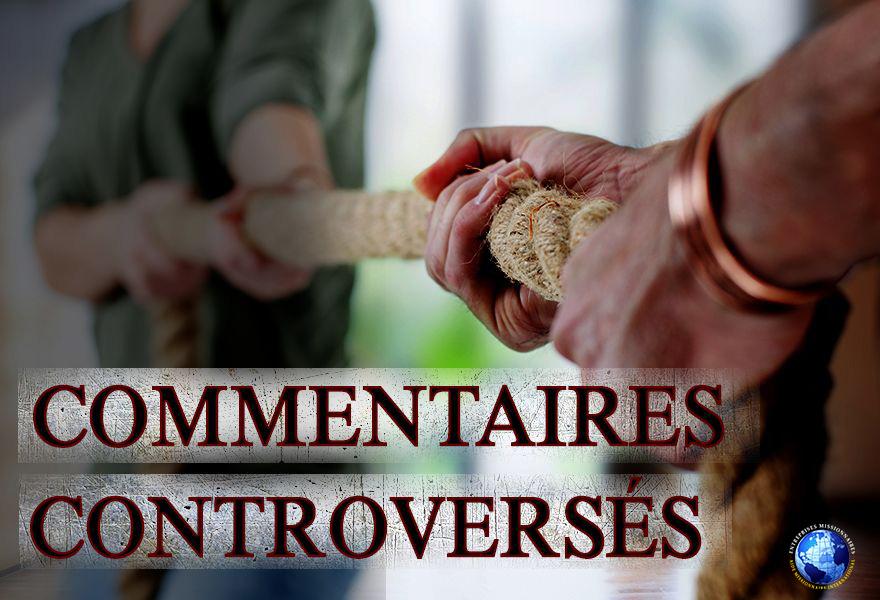 Commentaires Controversés