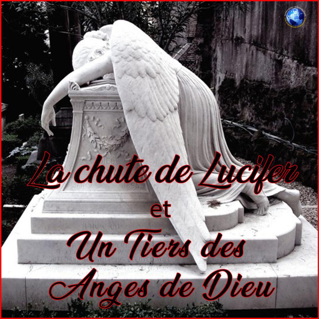 La chute de Lucifer Et Un Tiers des  Anges de Dieu