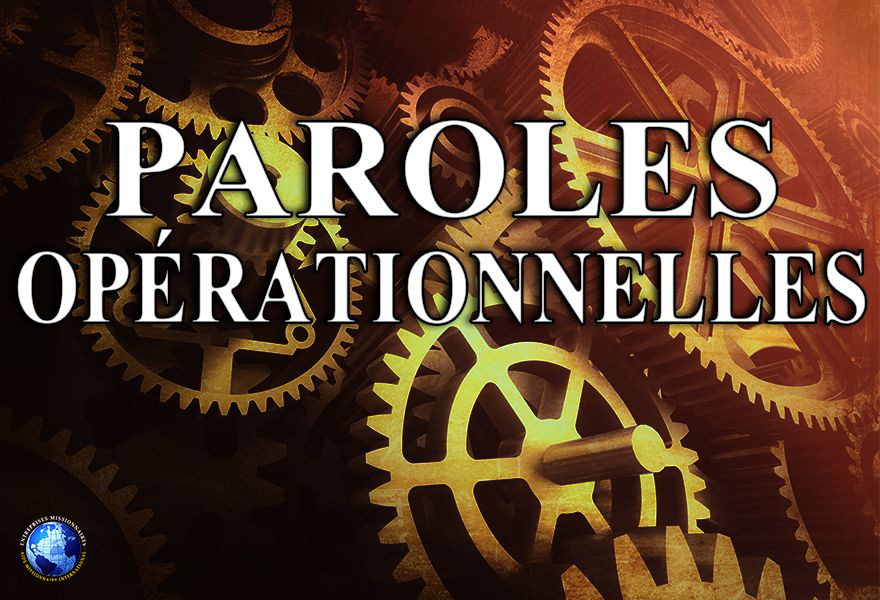 Paroles Opérationnelles