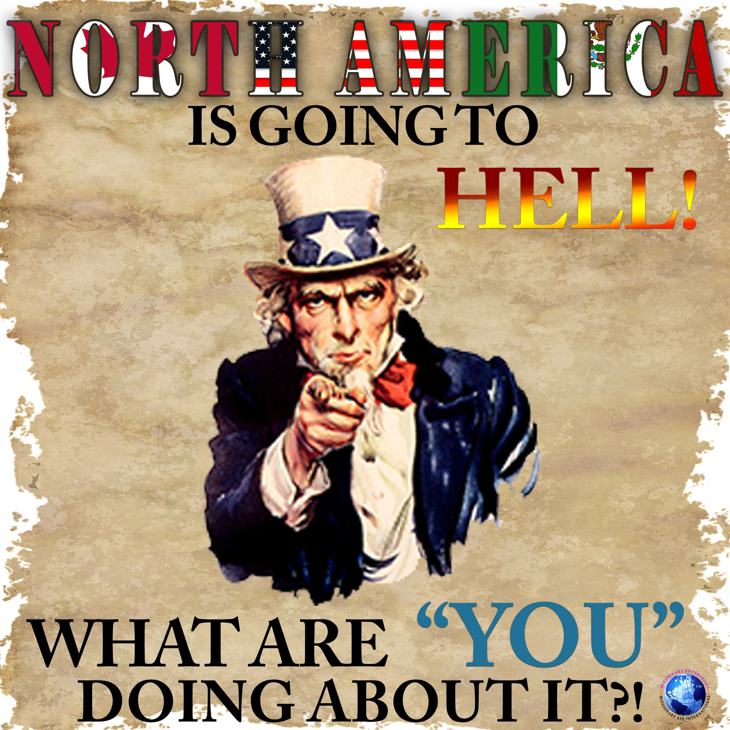 North America is going to Hell, What are you doing about it?