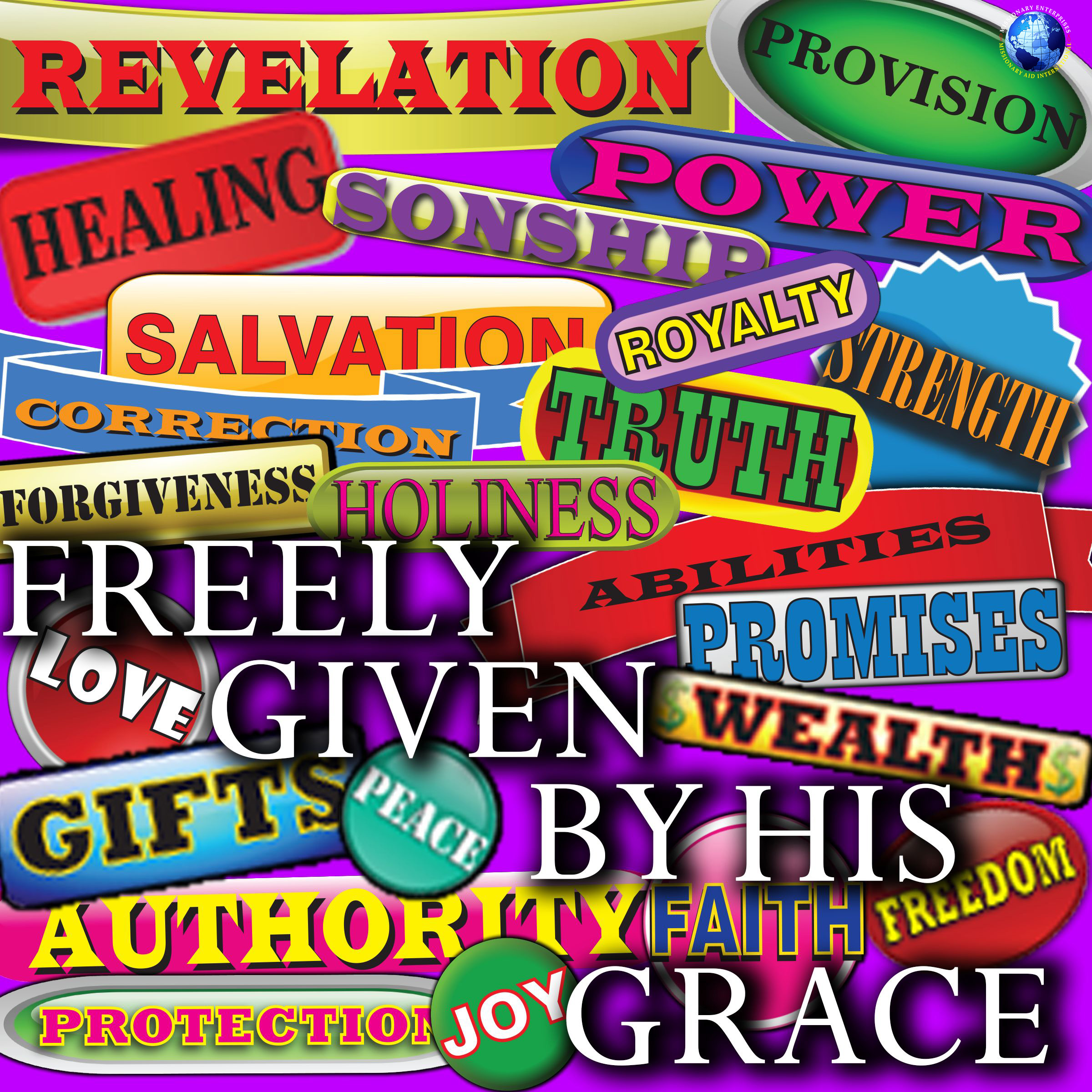 Freely Given By His Grace