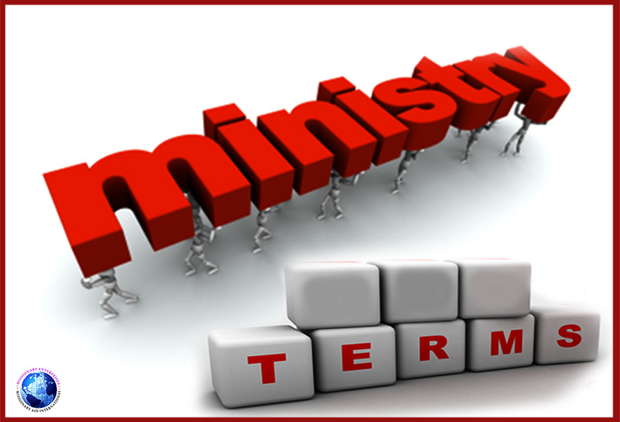 Ministry Terms