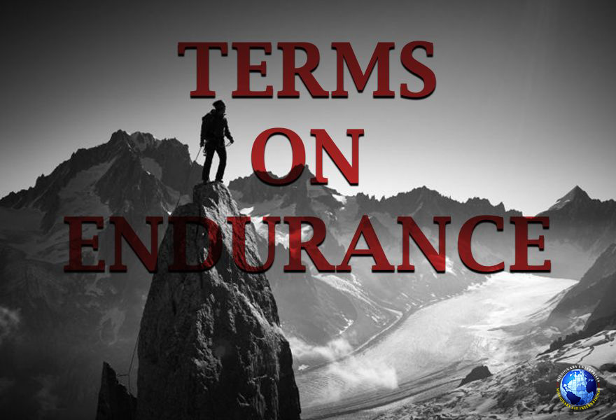 Terms On Endurance
