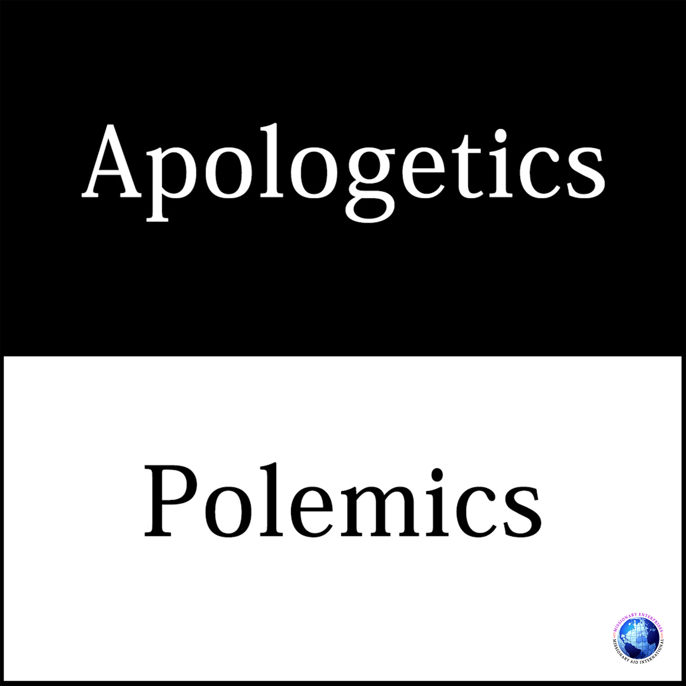 Apologetics / Polemics