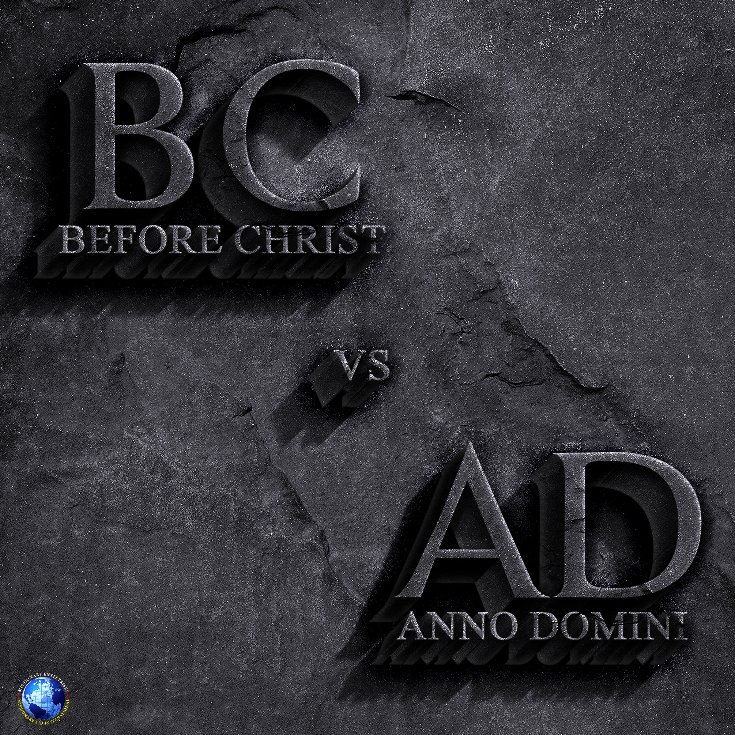 Before Christ vs Anno Domini