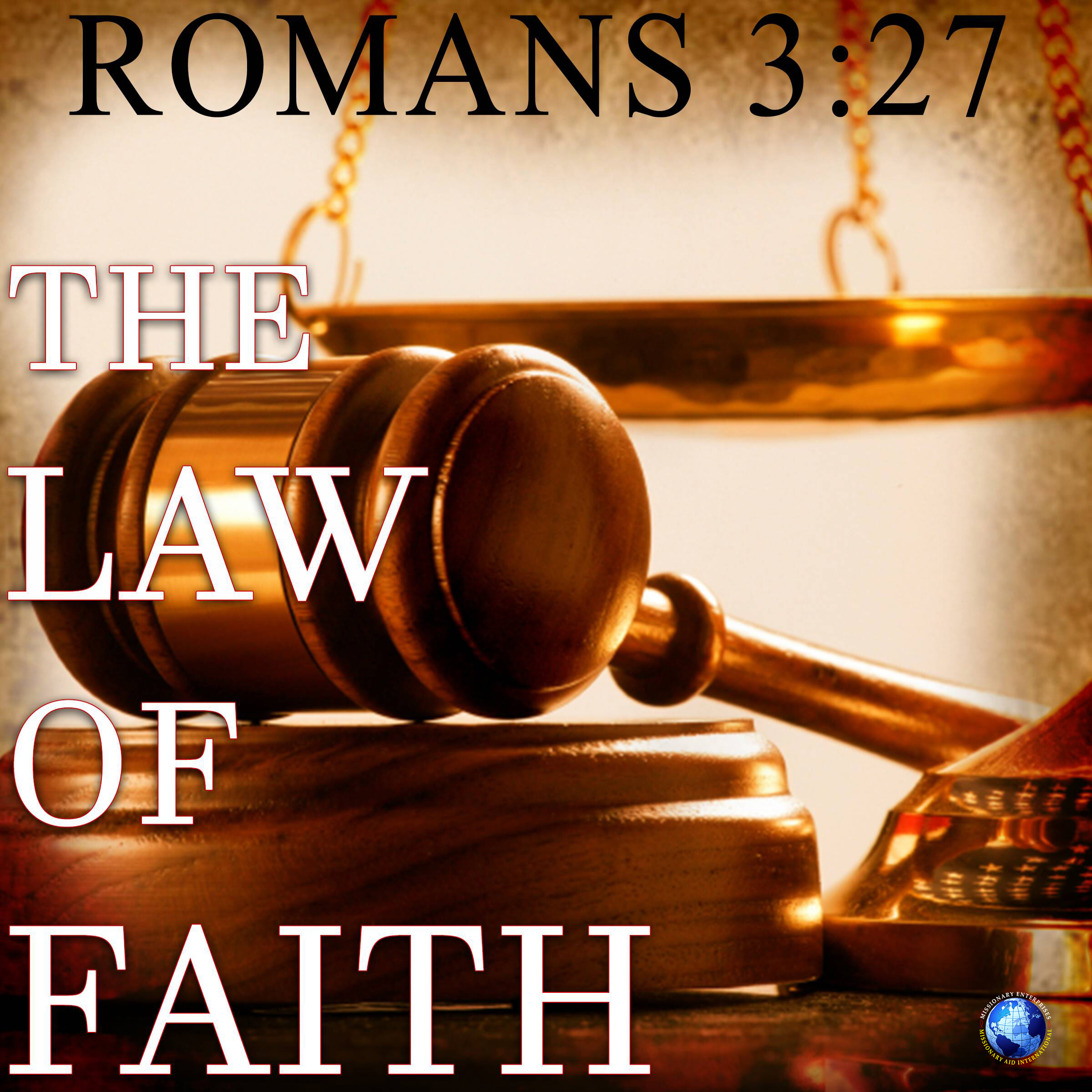 The Law of Faith