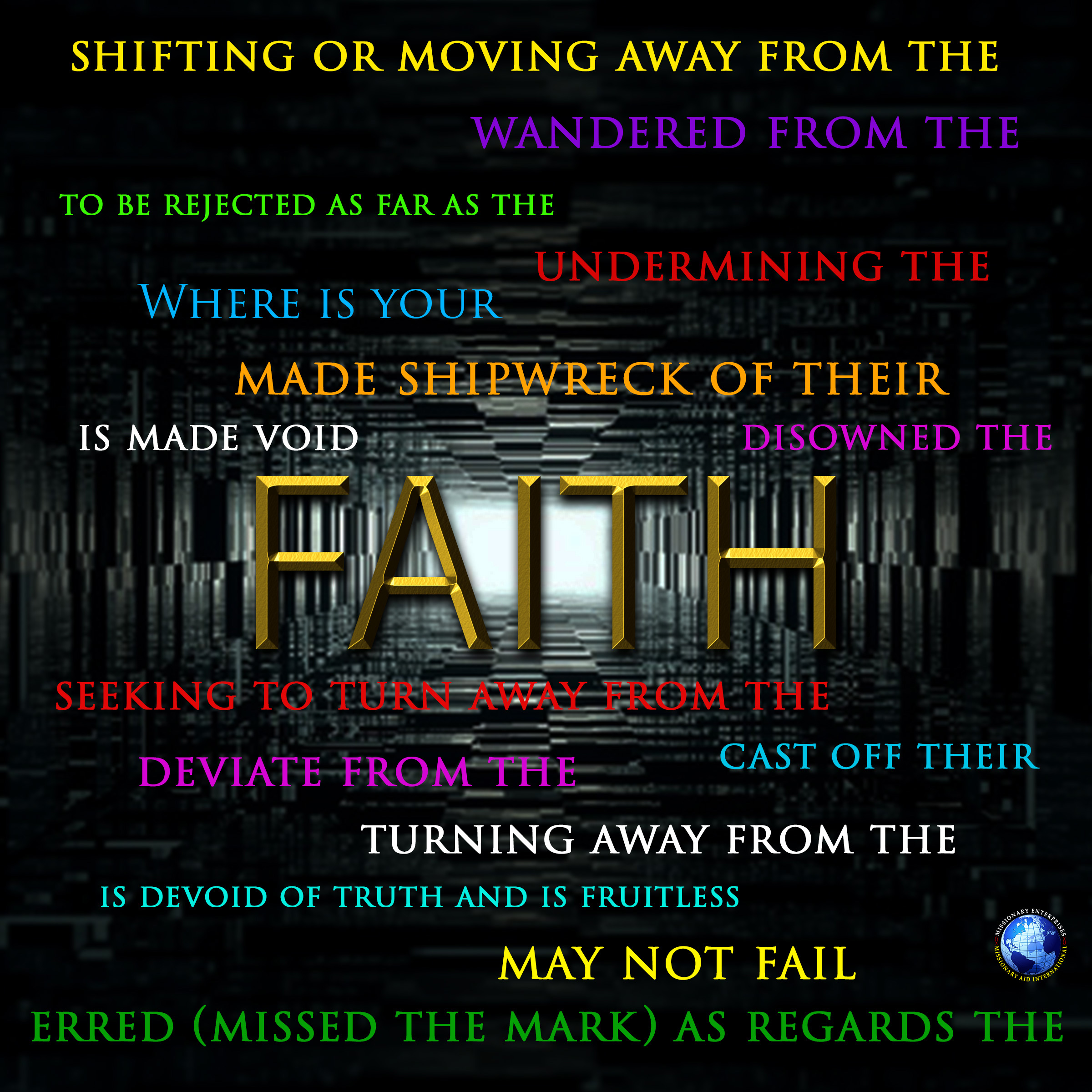 Turning Away From The Faith